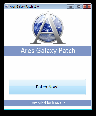 Ares Galaxy Patch