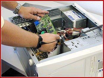 Tecnico y un CPU