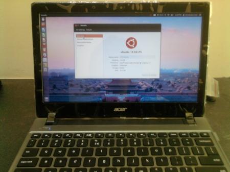 Acer C7 con Ubuntu