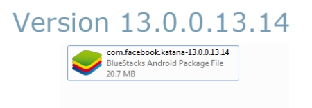 version-facebook-apk